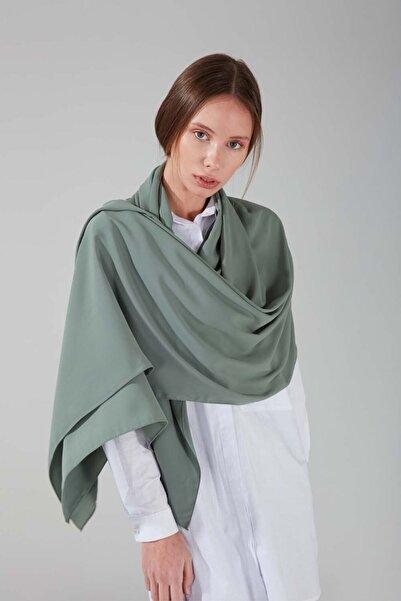 Mizalle Kadın Yeşil Medine Ipeği Şal