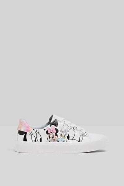 Minnie Daisy Baskılı Spor Ayakkabı