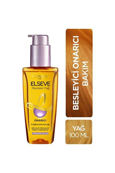 ELSEVE L'oréal Paris Yıpranmış Saçlar Için Onarıcı Mucizevi Saç Bakım Yağı 100 Ml