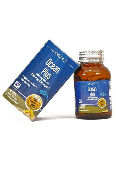 Ocean Plus 1200 mg Balık Yağı Limon Aroma 50 Softgel X 5 Adet