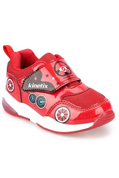 Kinetix Unisex Çocuk Kırmızı Koşu Yürüyüş Ayakkabı