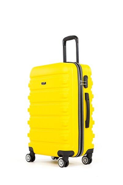 Fossil Unisex Sarı Kabin Valiz 1116