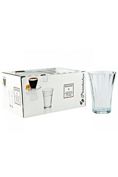 Paşabahçe Diamond Kahve Yanı Su Bardak 6'lı 52400