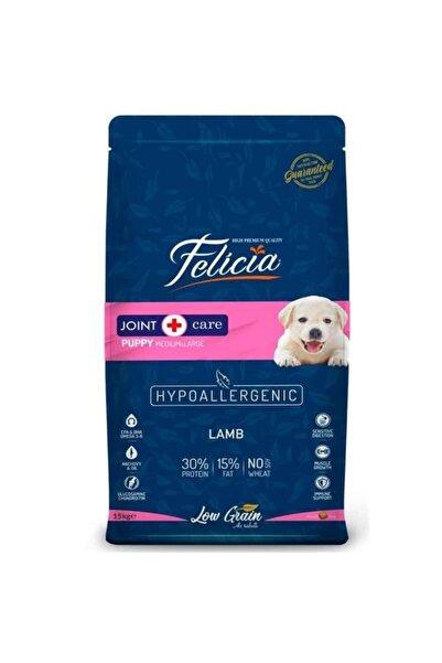 Felicia Yavru Köpek Maması Kuzulu Az Tahıllı Hypoallergenic 15 kg