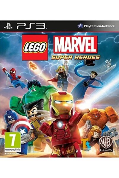 Warner Bross Lego Marvel Super Heroes Ps3 Oyun