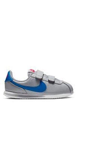 Nike Cortez Basic Sl Gri Çocuk Spor Ayakkabı