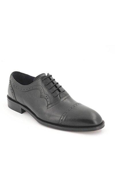 Venüs Erkek Siyah Klasik Deri Ayakkabı