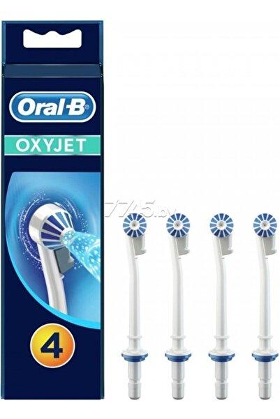 Oral-B Oral B Şarjlı Diş Fırçası Ağız Duşu Yedek Başlığı Oxyjet 4lü