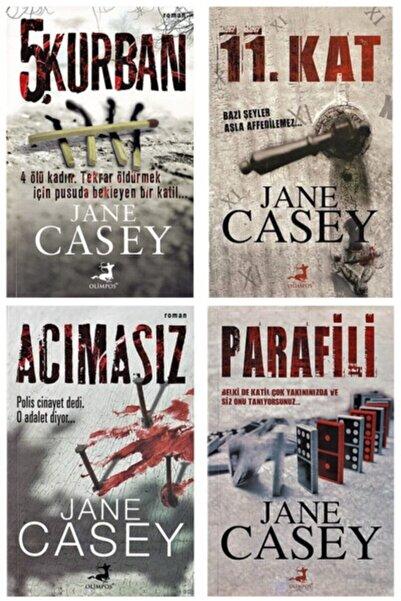 Olimpos Yayınları Jane Casey Gerilim Roman Seti 4 Kitap