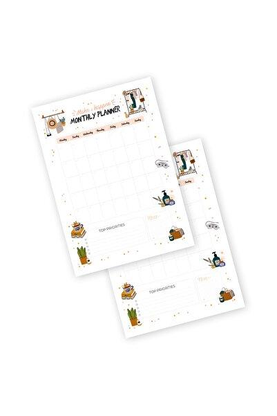 YAPRAK Haftalık Planlayıcı - Monthly Planner