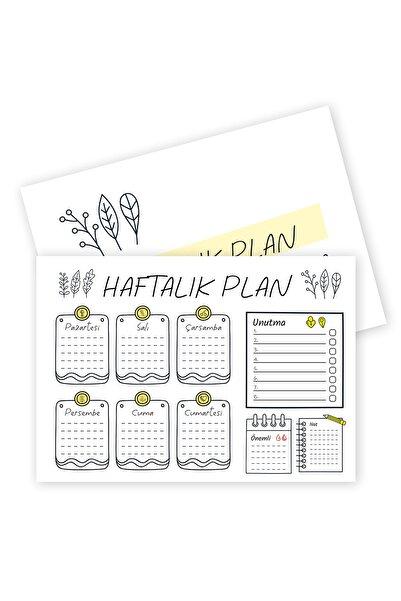 YAPRAK Plan Defteri Haftalık - Sadem - Pnld30110
