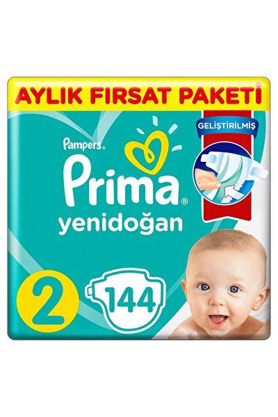 Prima Bebek Bezi Aktif Bebek 2 Beden 144 Adet Standard Paket