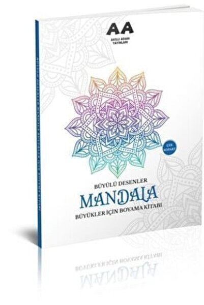 Mandala Büyülü Desenler