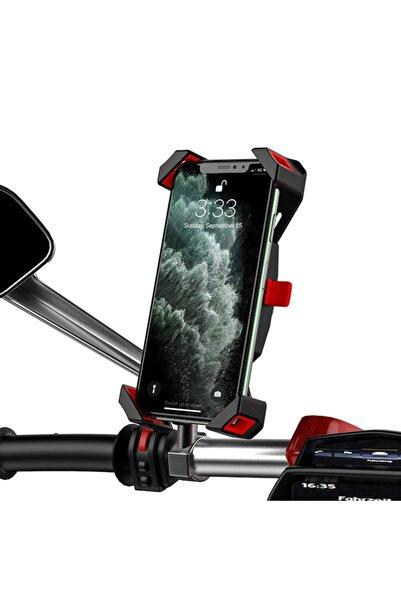 Nukrotech Kn53 Motosiklet Ayna Aparatlı Telefon Tutucusu