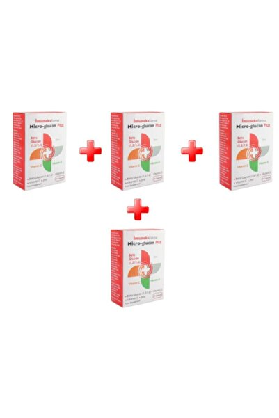 Imuneks Micro-glucan Plus 30 Kapsül 4'lü Paket