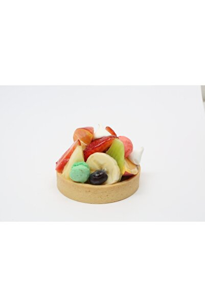 ABBAFOOD Chef's Atelier Vanilyalı Orta Boy Yuvarlak Tereyağlı Artizan Tartolet(tart Tabanı)57 X 15 Mm 20 Adet