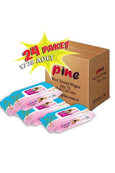 Pine 24 Paket 72'li Islak Mendil