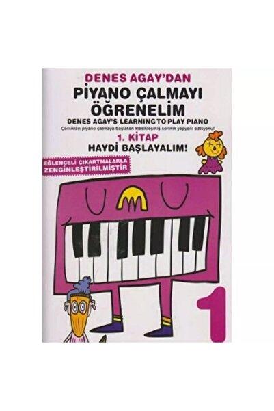 Porte Müzik Eğitim Yayınları Denes Agay'dan Piyano Çalmayı Öğrenelim 1. Kitap