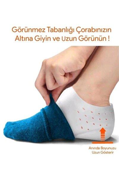 Astonish Boy Uzatıcı Silikon Topuk Çorabı Gizli Topuk Yükseltici Tabanlık