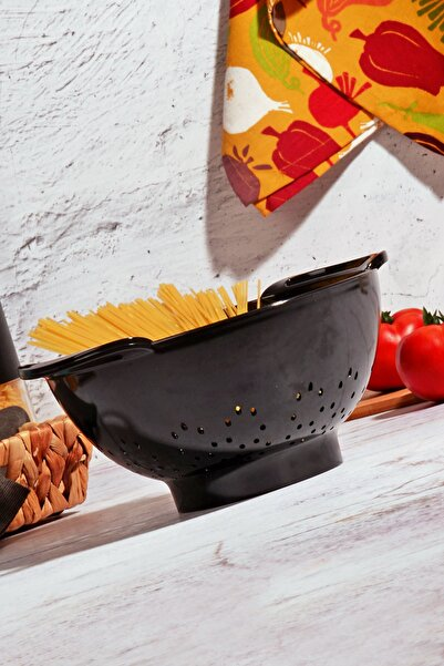 Kitchen Life Black Serisi Akrilik Lüx Süzgeç