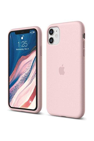 cepsesuar Apple Iphone 11 Kılıf Lansman Altı Kapalı Iç Kısım Kadife Rose