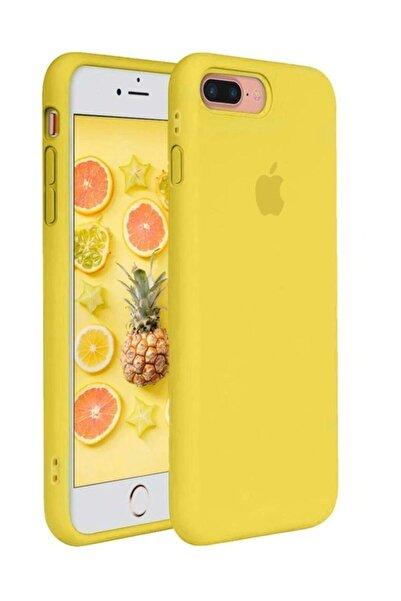 cepsesuar Apple Iphone 7 Plus Kılıf Lansman Altı Kapalı Iç Kısım Kadife
