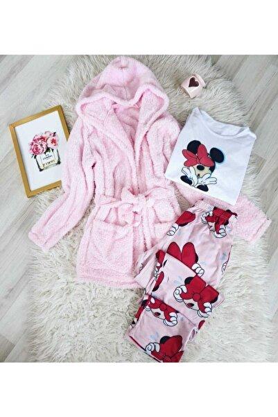 Funny Polar Sabahlık Pijama Takımı