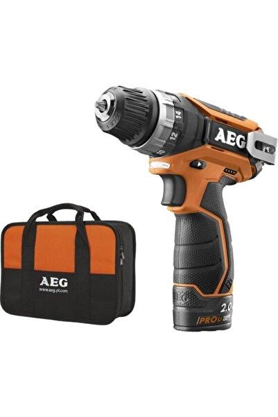AEG Bs 12 C2 Lı Çift Akülü Matkap (lithium Ion 12 V; 2.0 Ah)