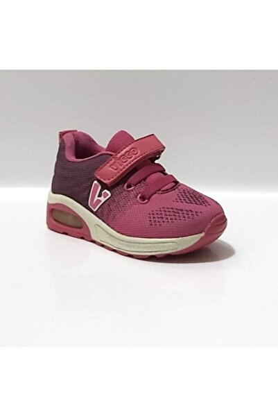 Vicco B166 Fuşya Anatomik Taban Işıklı Spor Ayakkabı