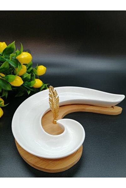ACAR Bambu Porselen Zeytin Sunum