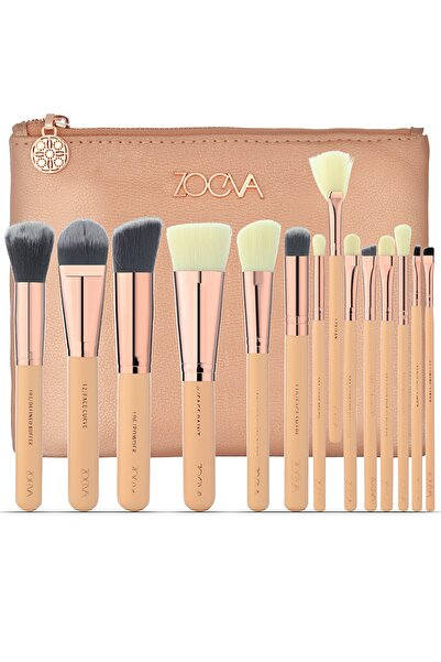 GNX 14 Pcs Brush Set & Bag - 14'lü Fırça Seti & Çanta
