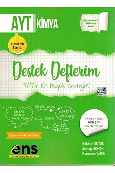 Ens Yayınları Ens Yayıncılık Ayt Kimya Destek Defterim