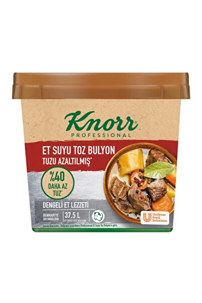 Knorr Et Bulyon Tuzu Azaltılmış 750 Gr
