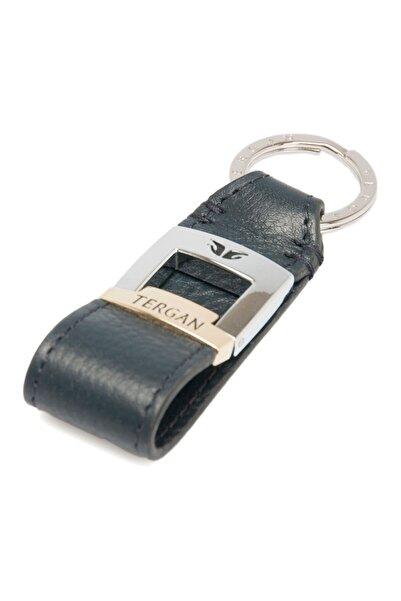 Tergan Lacivert Deri Unisex Anahtarlık 00242ı91