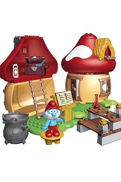Mega Bloks Şirinler Şirin Baba Mantar Evi Oyun Set /