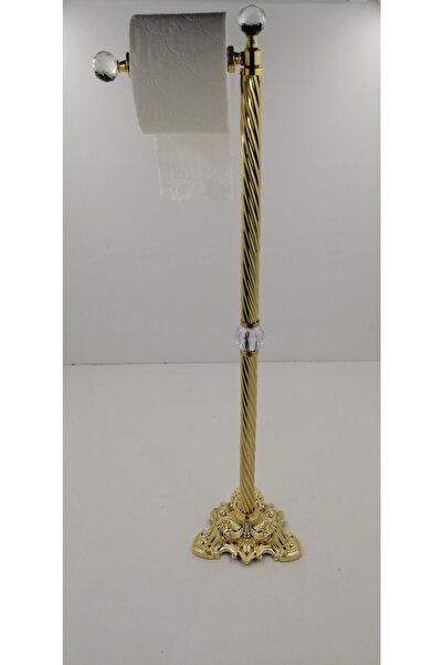 moda atölyesi Gold Serisi Tuvalet Kağıdı Ayaklı Standı