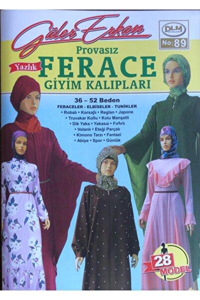 Dilem Yayınları Güler Erkan Provasız Yazlık Ferace Giyim Kalıpları No:89