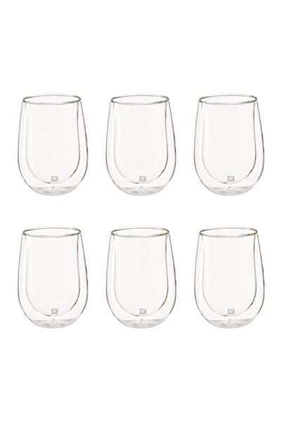 ZWILLING Çift Camlı 6'lı Beyaz Meşrubat Bardağı Seti