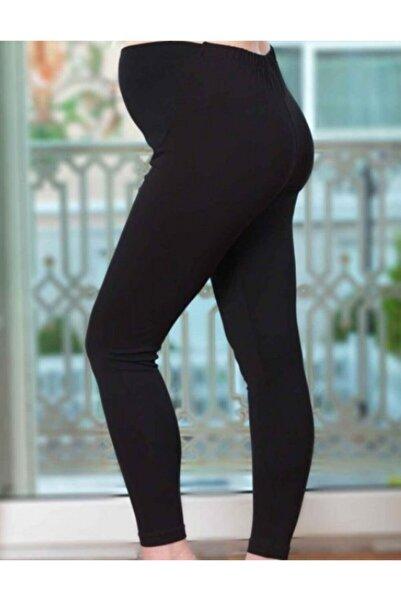 Şahinler Kadın Siyah Hamile Lohusa Taytı Pamuklu Mb3041