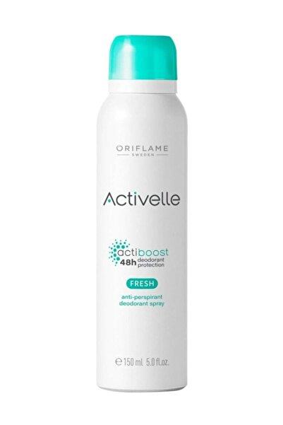 Oriflame Activelle Fresh Anti-perspirant Deodorant Sprey 150 Ml Mata-fresh