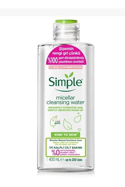 Simple Micellar Makyaj Temizleme Suyu Kind To Skin 400 ml