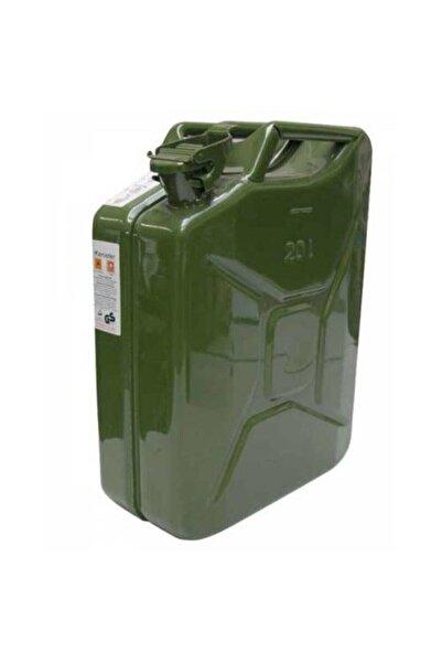 Pars 20 Litre Askeri Yeşil Metal Benzin Bidonu