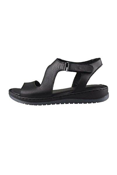 Bulldozer Kadın Deri Sandalet 201210