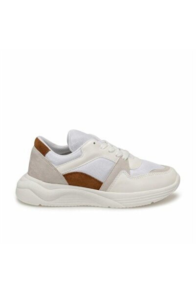 Polaris 316512.z Beyaz Kadın Fashion Kalın Taban Sneaker Spor Ayakkabı