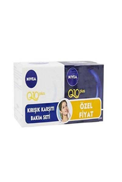 Nivea Q10 Plus Kırışık Karşıtı Bakım Seti 2x50 Ml 4005900147080
