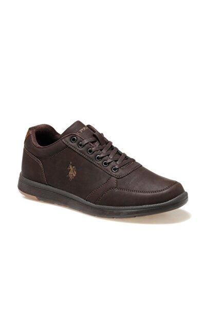 U.S. Polo Assn. Launa Kahverengi Erkek Ayakkabı