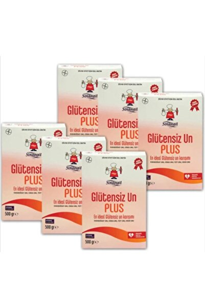 Sinangil 6 Adet Glutensiz Plus Un 500 gr