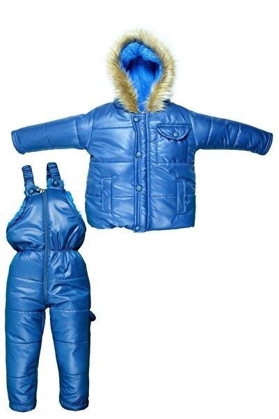 Supriz Sepeti Welsoft Erkek Bebek Mavi Astronot Mont Erkek Çocuk Kozmonot Tulumu