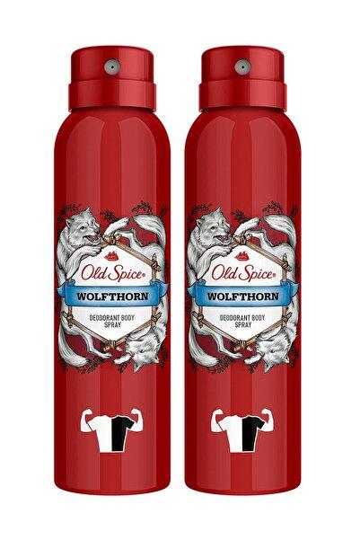 Old Spice Sprey Deodorant Wolfthorn 150 ml X 2 Adet