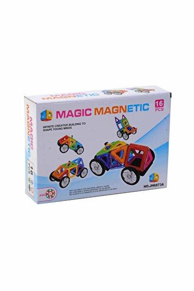 Cebitoys Kutulu 16 Parça Magic Magnetic Blocks